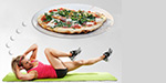 Inedible foods after exercise