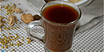 Stomach disorder coriander dried ginger drink for adjuster