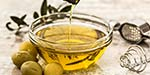 Which size is best to use olive oil?