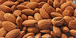 The almonds are good for the body