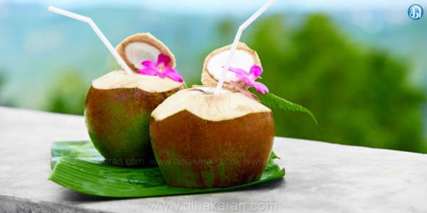 Doctors advise to drink coconut water given to control irattaaluttattai paranoia. The start of the summer, too much sun light coming out of the house to the public