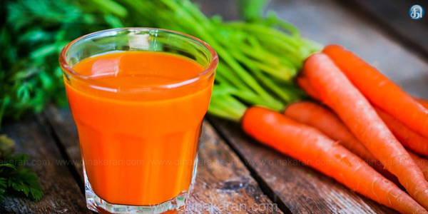 Carrot has various medicinal properties. Drink half a glass of carrot juice in the morning and leave the worms in the stomach. Cleanses the stomach. Food is good for digestion.