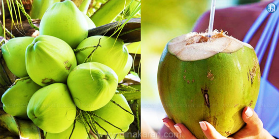 Urinary problems ... the best coconut water!