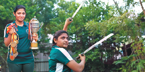 National award in fencing competition