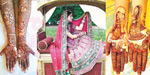 Mehndi in a bold married wedding life