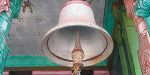 Give temple bell and donate!