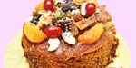 Dried fruit cake (completely vegetarian)