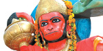 The Hanuman maiden