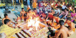The Puja is the 108th birthday celebration in the temple of Senthileshwarar near Kannamangalam