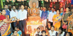 A special puja for the birth of Buddha