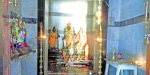 Sunlight shone on the Lord in the temple near Ranipet Kothandaramar