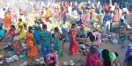 Pongal Christians to worship at the temple, the Mother of Lourdes