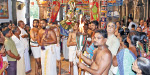 Mother Thiruvadi service at Nalliyoor Nachiyar temple