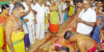 Rebuilding ceremony at Amman temples in Kumarapalayam