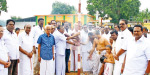 Thiagarajar's 171th service ceremony in Thiruvaiyar: conducted by pandal