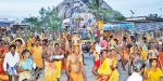 108 Kavadi, Balguda march for Viralimalai Temple