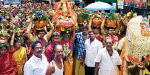 508 Balukuda procession at Arani Durga Amman Temple