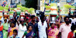 6000 people participated in the festival of Mulur Nagamal Temple