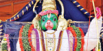 Rama decoration to the Anjaneya to seek world welfare