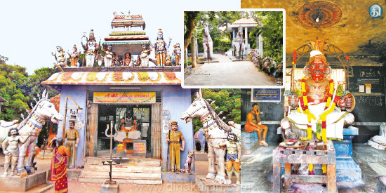 Guardian of motorists Come up with ayyanarappan
