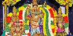 Monastery ceremony in Mannargudi Rajagopala Swamy Temple: A large number of devotees darshan