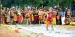 The increase for the first time today at Sabarimala Darshan Devotees attract thousands each year