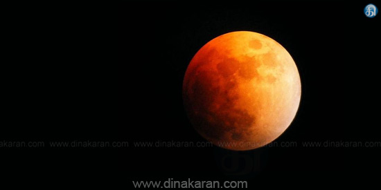 Lunar Eclipse Tonight !: wonderful results of worship near the magical japankal