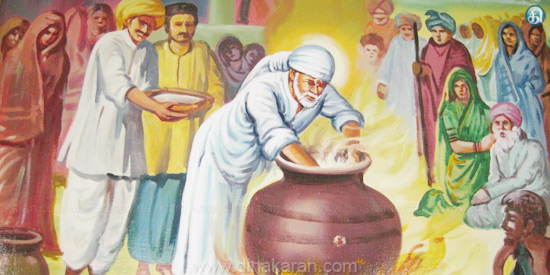 Sai devotees are not hungry for Baba