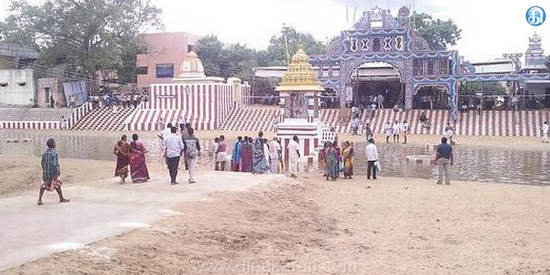 Excellence of sacred water in Mayiladuthurai pond