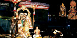 On the 2nd day of the Tirupati temple: the hill in the vehicle of Swayam Swamy