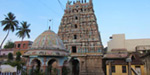 The structure of the test sarangapani swamy temple