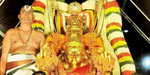 Gold Garuda the vehicle of Lord Tirupati malaiyappa vitiula