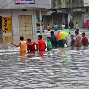 Heavy rains and floods will increase due to global warming