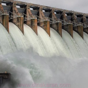 Caves in Cauvery catchment areas: Mettur dam water level reached 100 feet