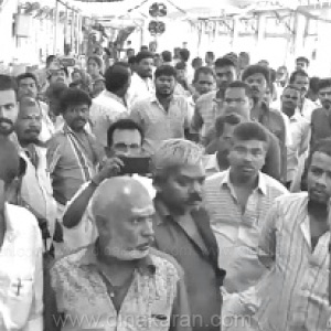Hair correction workers struggle to boycott work at Palani temple