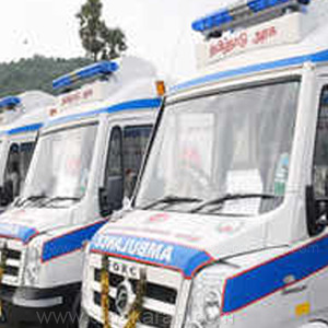 1000 Ambulance vehicles for service to villages in Tamil Nadu