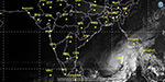 Varta slightly valuvil storm while crossing the border: Meteorological Information
