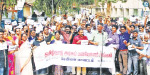 Jallikattu favor Teachers protest