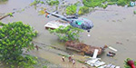 Rain kills 25 in Assam: Union Minister Rajnath Singh inspected in helicopter
