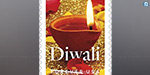 Diwali special postage stamp in the United States, Oct. 5 release