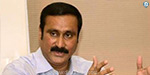 Ramadoss request to tamilnadu State stop the construction in Palar