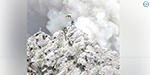 Indian national flag in Indonesia volcano: Hyderabad youth record