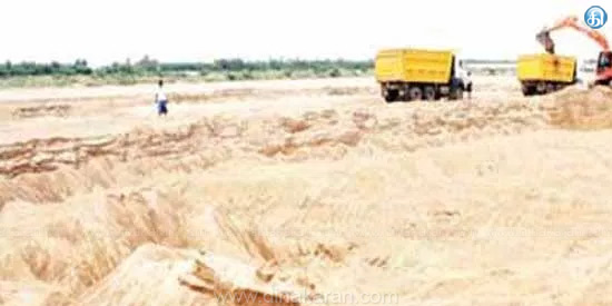 Applied online 59 thousand lorries Allow sand to take