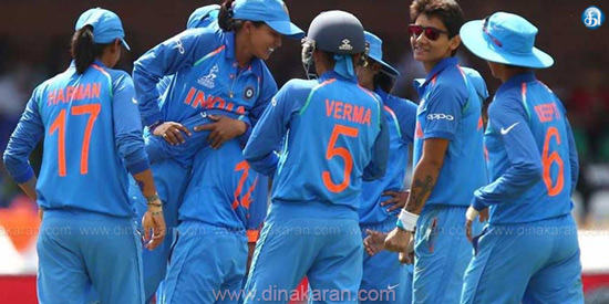 ICC Women's World Cup India at half end