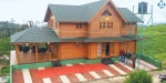 Impressive wooden houses to attract tourists