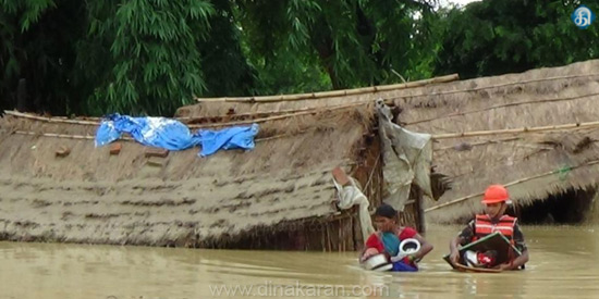 Rain in Nepal: 33 people killed