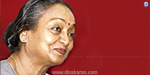 Meera Kumar condemned the caste