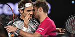 Roger Federer once again hold the top spot ...: vavrinka prediction