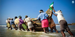 Fishing ban period ended at midnight, hoping the Tamil Nadu fishermen went to sea