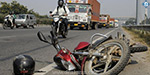 Larry collision on the bike CRPF player pity death